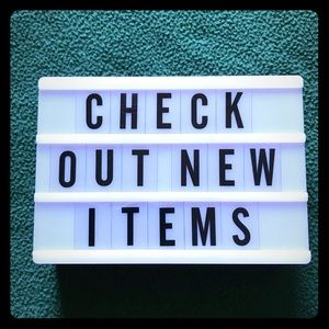 CHECK OUT NEWLY POSTED ITEMS!